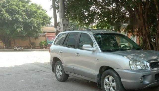 Bán Hyundai Santa Fe đời 2004, màu bạc, nhập khẩu chính chủ