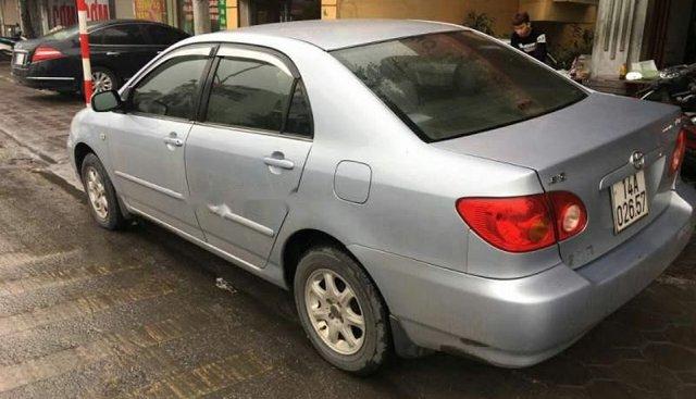 Cần bán Toyota Corolla altis sản xuất 2003, màu bạc, giá chỉ 235 triệu