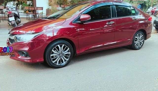 Cần bán xe Honda City đời 2017, màu đỏ như mới