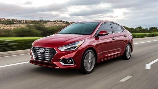 Bán Hyundai Accent 2019, màu đỏ, nhập khẩu