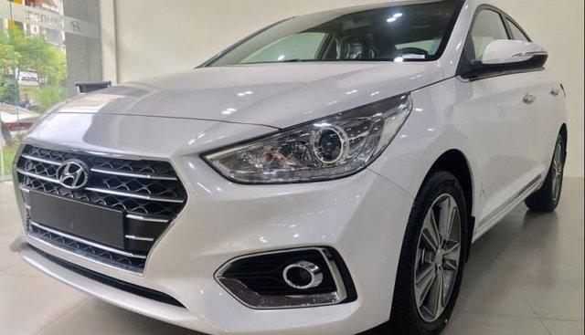 Bán ô tô Hyundai Accent đời 2019, màu trắng, 425tr
