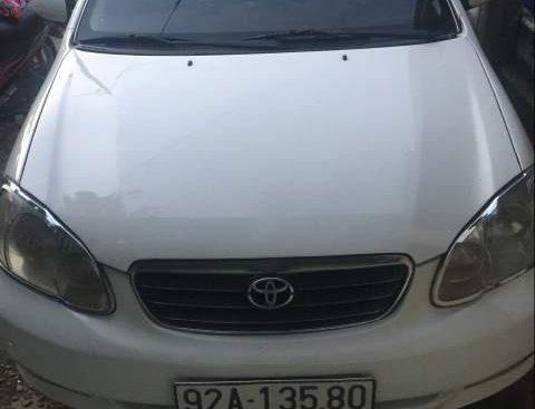 Bán Toyota Corolla altis đời 2004, màu trắng, 210tr
