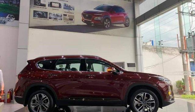 Bán Hyundai Santa Fe sản xuất năm 2019, màu đỏ