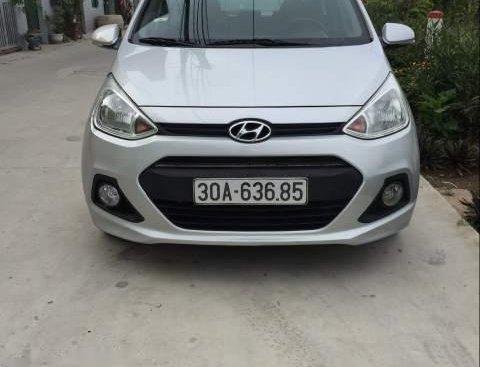 Bán Hyundai Grand i10 MT 2014, màu bạc, chính chủ