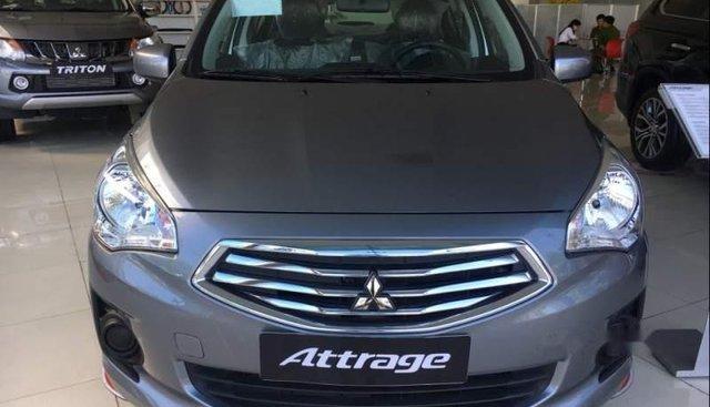 Bán xe Mitsubishi Attrage năm sản xuất 2019, màu xanh lam, xe nhập