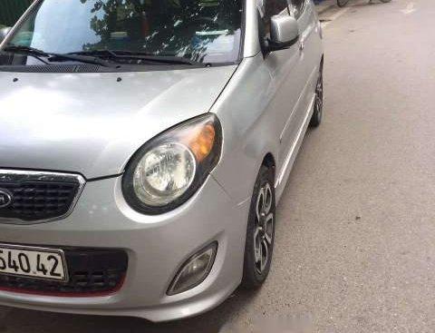 Bán Kia Morning năm sản xuất 2010, màu bạc, nhập khẩu nguyên chiếc số sàn, giá 170tr