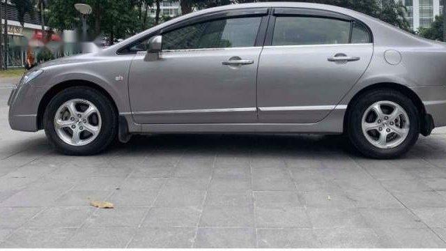 Cần bán lại xe Honda Civic 1.8 AT đời 2009, màu xám ít sử dụng, giá 348tr