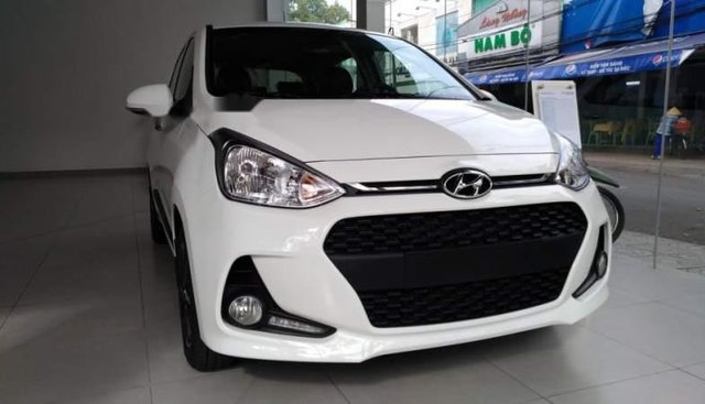 Bán xe Hyundai Grand i10 đời 2019, màu trắng