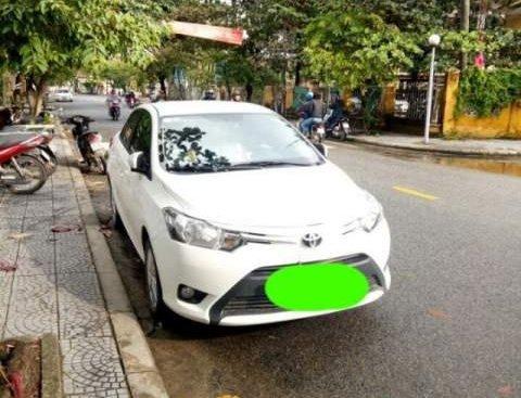 Cần bán xe Toyota Vios năm sản xuất 2017, màu trắng