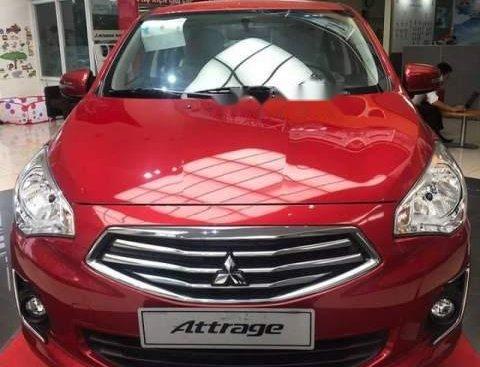 Bán xe Mitsubishi Attrage MT Eco đời 2019, màu đỏ, xe nhập