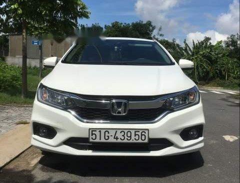 Bán Honda City 1.5 CVT năm sản xuất 2017, màu trắng, xe nhập chính chủ, 540 triệu