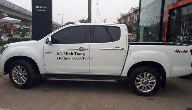 Bán Isuzu Dmax năm 2018, màu trắng, xe nhập