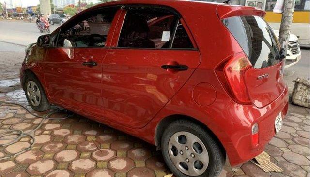 Bán Kia Morning Van 2013, màu đỏ, xe nhập