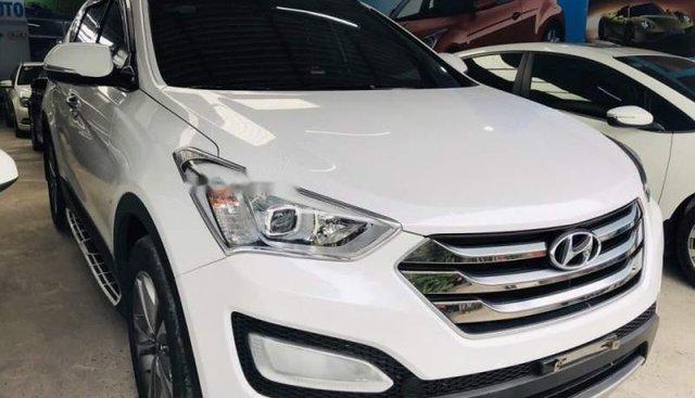 Bán Hyundai Santa Fe sản xuất 2015, màu trắng chính chủ