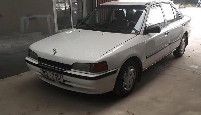 Bán Mazda 323 màu trắng, số tay, đời 1997, xe đẹp