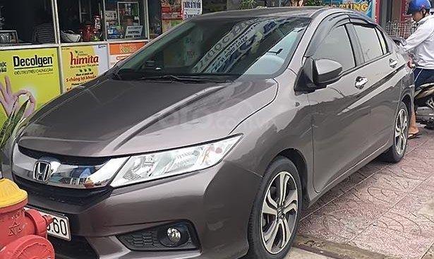 Bán xe Honda City 2016, màu titan, số tự động