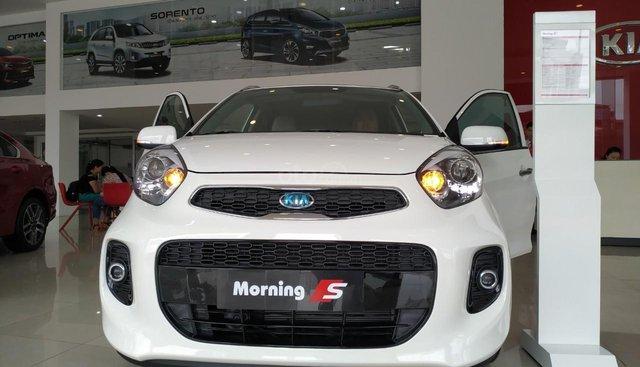 Bán xe Kia Morning EXMT, AT, S AT sản xuất 2019, màu trắng, nhập khẩu, giá 299tr