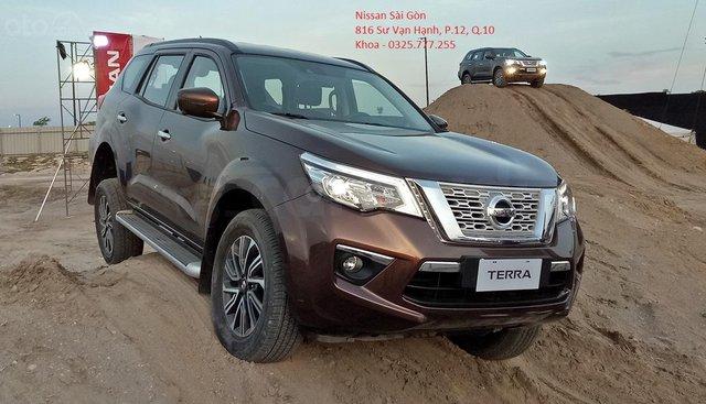 Sale Nissan Terra V 2019 nhập khẩu Thái Lan, giá tốt nhất TPHCM