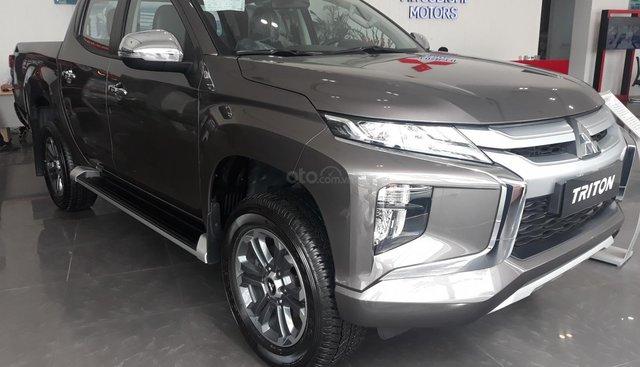 Bán Mitsubishi Triton sản xuất năm 2019, màu nâu, nhập khẩu nguyên chiếc