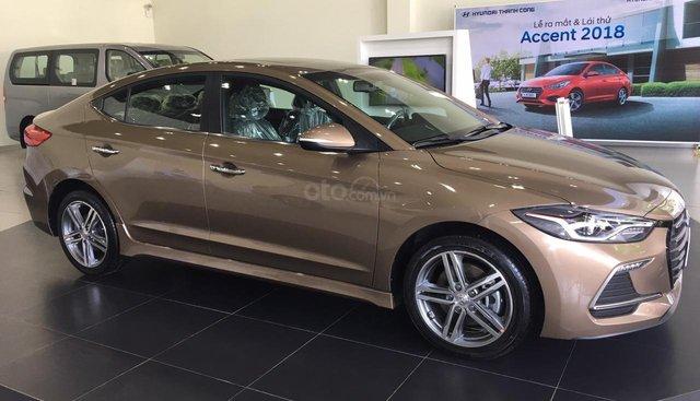 Bán Hyundai Elantra Sport 2018 mới 100%, bán lỗ giá sốc, giao ngay