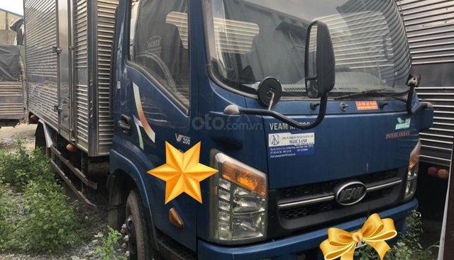 Bán xe tải Veam VT200 tải 1T9 thùng kín