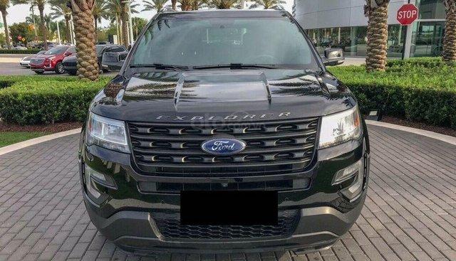 Bán Ford Explorer Limited Sx 2017 model 2018, màu đen, xe đi 33000km