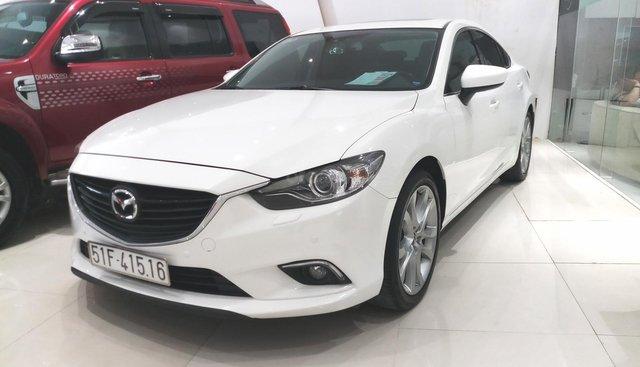 Bán Mazda 6 2.5 AT đời 2016, màu trắng, giá 770tr