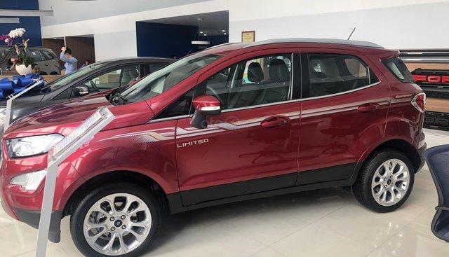 Bán ô tô Ford EcoSport Titanium đời 2019, màu đỏ