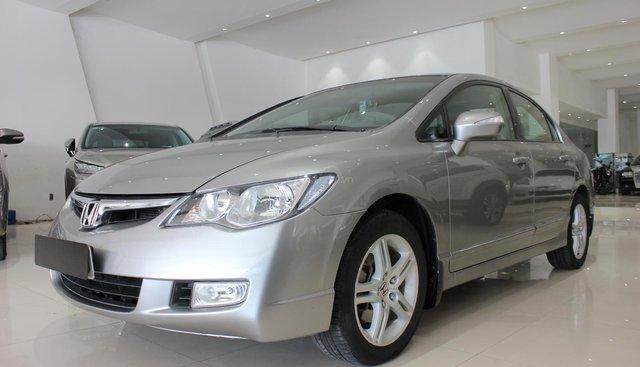 Cần bán xe Honda Civic 2.0 AT đời 2008, màu xám (ghi), giá chỉ 370 triệu