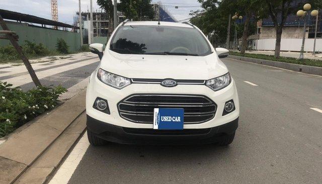 Bán Ford EcoSport Titanium 1.5 2017, màu trắng, trả góp đưa trước 170-200tr