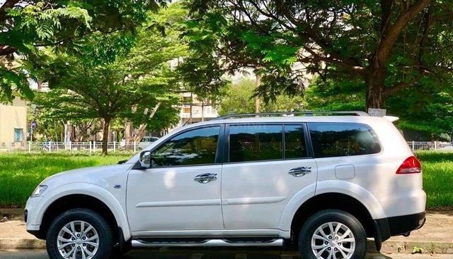 Gia đình cần bán Pajero 2017, số tự động, máy xăng