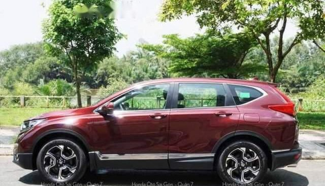 Cần bán Honda CR V G đời 2019, màu đỏ, nhập khẩu