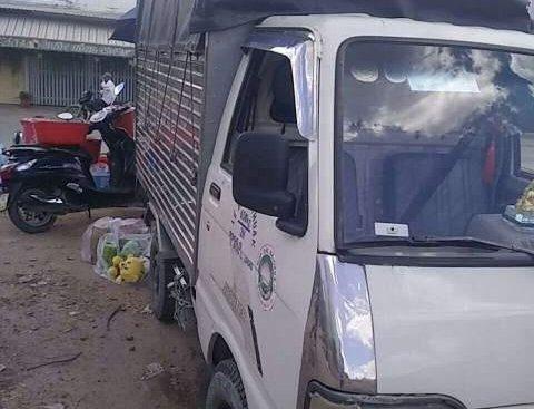 Bán ô tô Thaco Towner sản xuất năm 2003, màu trắng, nhập khẩu, xe đang sử dụng