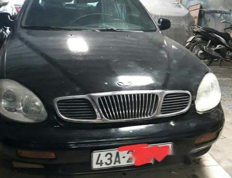 Bán Daewoo Leganza đời 2002, màu đen, xe sử dụng tốt