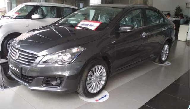 Bán Suzuki Ciaz, xe Sedan hạng B, nhập khẩu nguyên chiếc từ Thái Lan, không gian nội thất rộng rãi