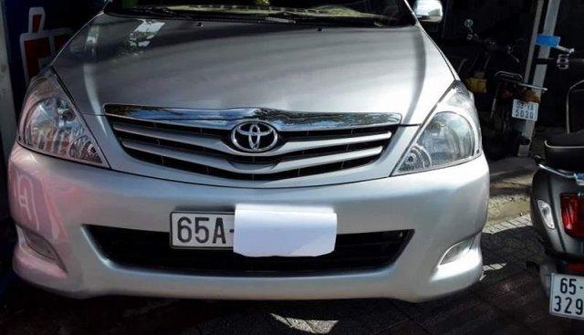 Bán Toyota Innova G đời 2011, màu bạc, nhập khẩu