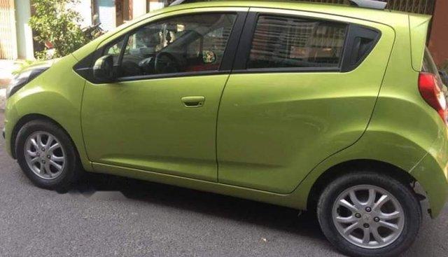 Cần bán lại xe Chevrolet Spark năm 2014, màu xanh lá, số tự động