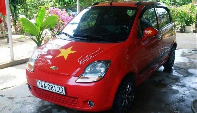 Cần bán gấp Chevrolet Spark năm 2010, màu đỏ, xe đi rất êm và cực kì lợi xăng