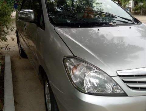 Cần bán xe Toyota Innova sản xuất năm 2008, màu bạc, xe tốt có bảo hành