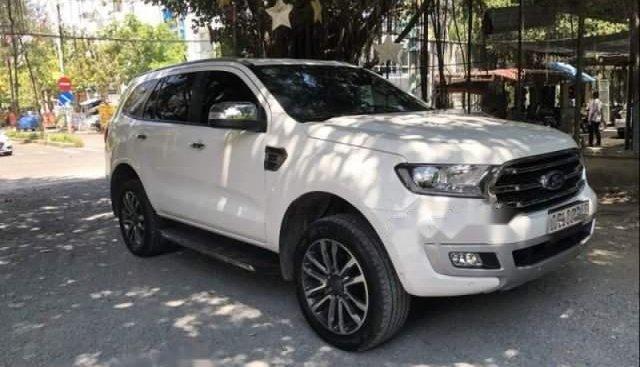 Bán Ford Everest sản xuất 2018, màu trắng, nhập khẩu
