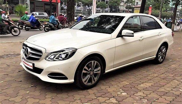 Bán xe Mercedes E250 2015, màu trắng, xe nhập