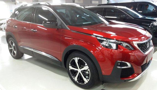 Bán Peugeot 3008 năm sản xuất 2019, màu đỏ