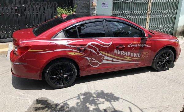 Cần bán xe Chevrolet Cruze LTZ 2018 màu đỏ mâm đen