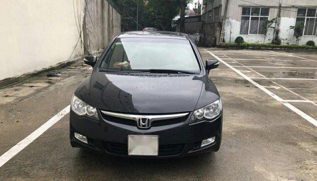 Bán Honda Civic 2.0 đời 2008, màu đen, giá 350tr