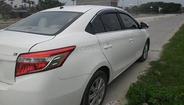 Bán Toyota Vios E năm 2016, màu trắng chính chủ