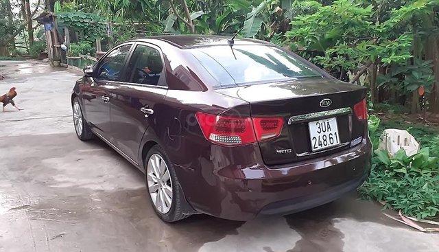 Bán Kia Cerato sản xuất 2010, màu tím, xe nhập, giá chỉ 375 triệu
