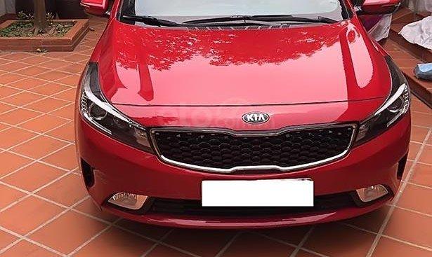 Cần bán xe Kia Cerato đời 2018, màu đỏ như mới