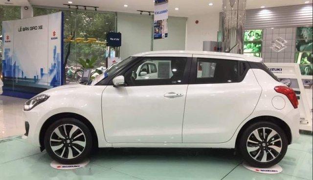 Bán Suzuki Swift GLX đời 2019, màu trắng, xe hoàn toàn mới