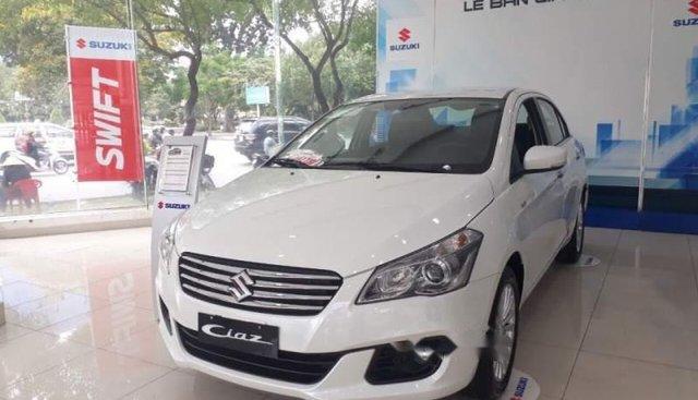 Cần bán Suzuki Ciaz sản xuất năm 2018, màu trắng
