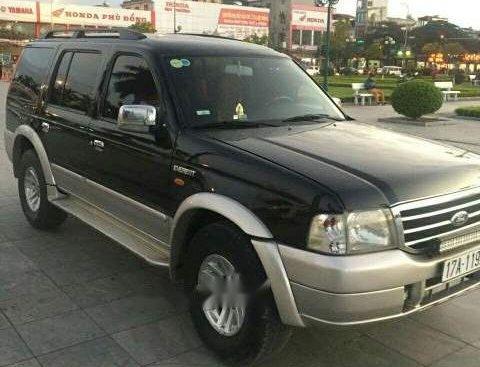 Cần bán Ford Everest MT sản xuất 2006, màu đen, xe gia đình sử dụng